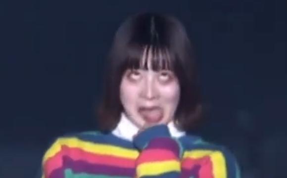 加藤乃愛の変顔
