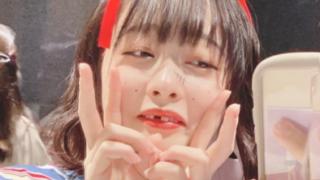 前歯が抜けた加藤乃愛